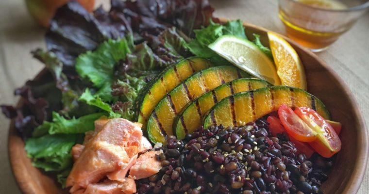訂戶獨享【黑綠豆南瓜米沙拉】提神輕食一餐