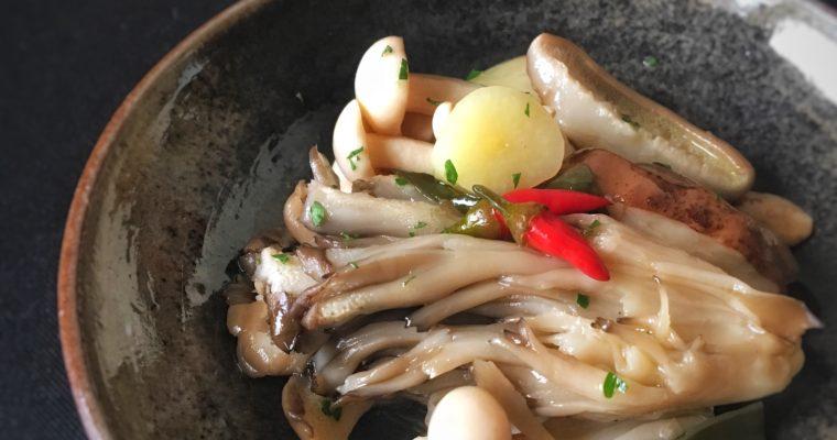 訂戶獨享【義式橄欖油醋菇】常備料理好基底!