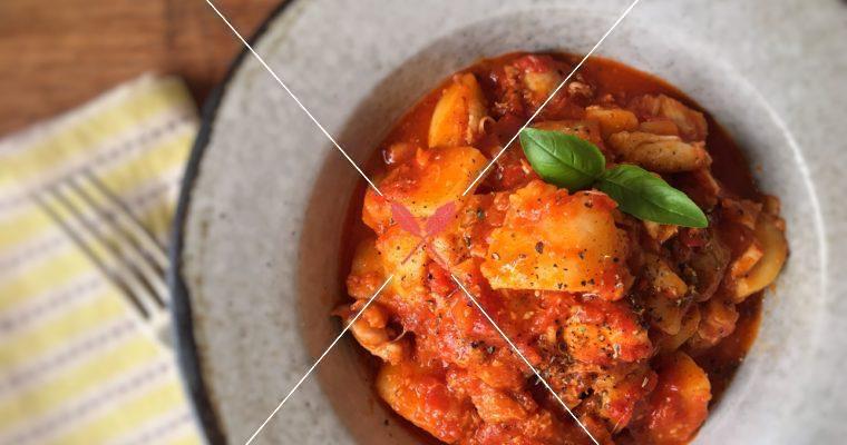訂戶獨享【番茄馬鈴薯燉雞腿肉】營養美味的輕食一餐