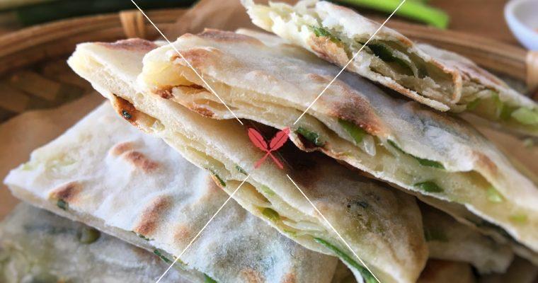 訂戶獨享【極勁道,蔥油餅】冷水麵糰 & 乾烙法,品嘗麵粉香氣與Q度咬勁