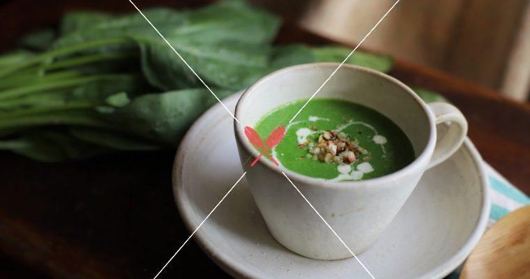【冬季暖身湯粥】用盛產牛蒡、菠菜、南瓜、白花椰菜製作的四款溫暖湯粥