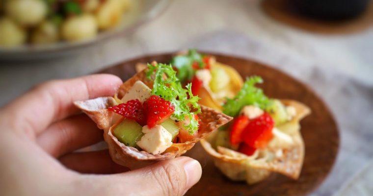 訂戶獨享【草莓沙拉小禮盒】超簡單的華麗聖誕風 Finger Food