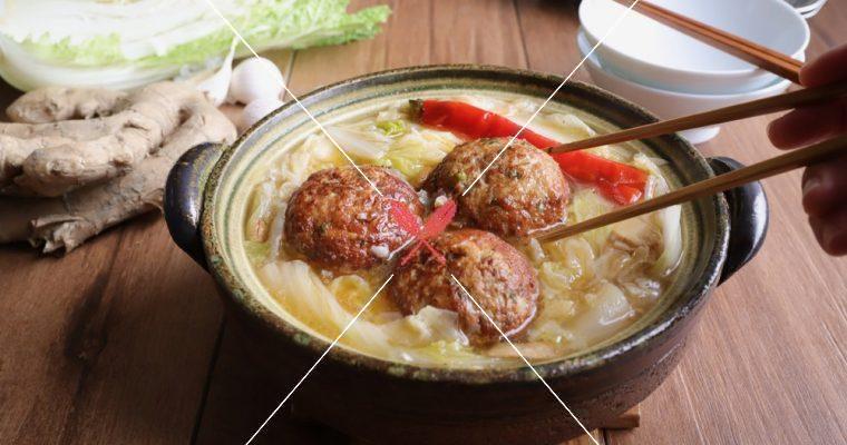 訂戶獨享【紅燒獅子頭】大白菜的旺季,一定要來一鍋