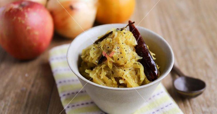 訂戶獨享【洋蔥蘋果醬與3種快速變化料理】省時又提升風味
