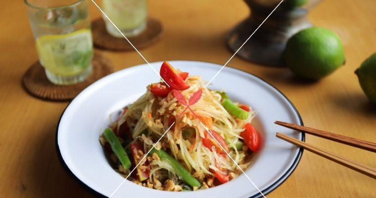 訂戶獨享【泰式青木瓜絲】酸、甜、辣超夠味!夏季超級下酒菜