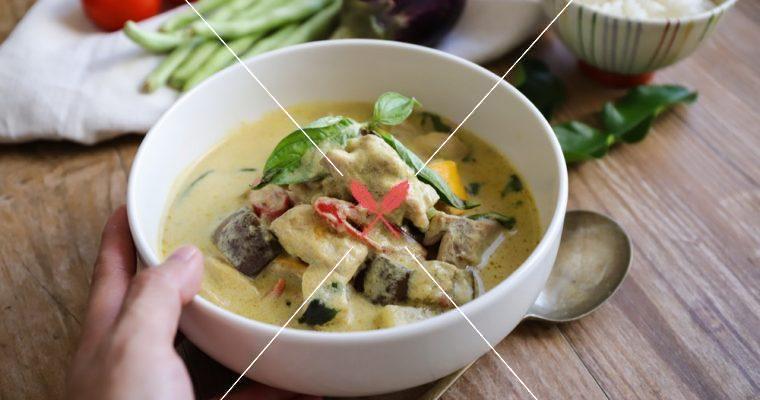 訂戶獨享【泰式雞肉蔬菜綠咖哩】30分鐘完成的美味夏季咖哩