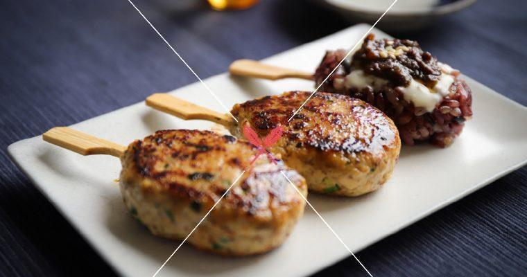 限時開放【味噌雞肉棒與米棒】調味簡單變化,鮮、鹹、甜層次風味!