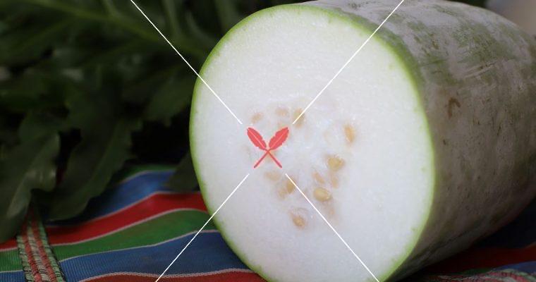 【深度台灣在地蔬果水產集】冬瓜:其實是夏天的瓜,料理方便還可做冬瓜茶!