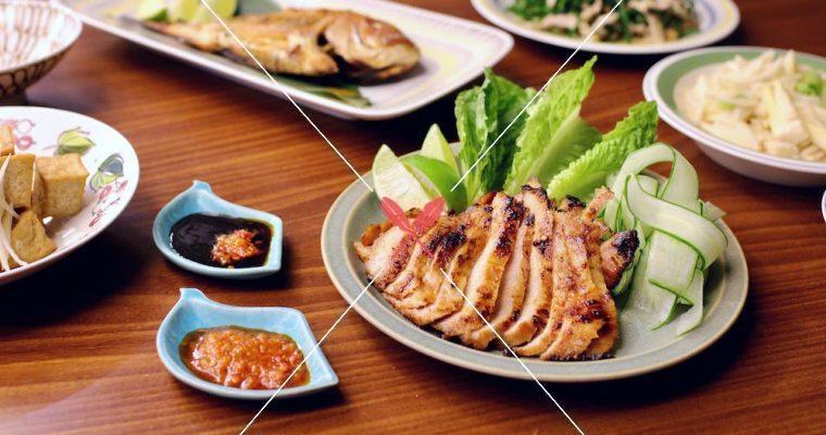 訂戶獨享:不出國也能有的南洋風味-泰式辣椒醬烤松阪豬