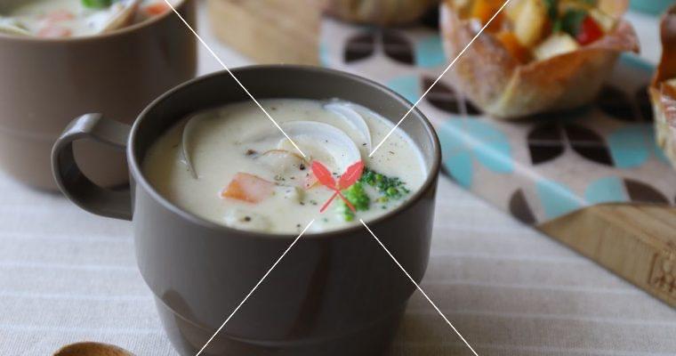 訂戶獨享: 親子共煮,免炒麵粉【蛤蜊巧達濃湯】