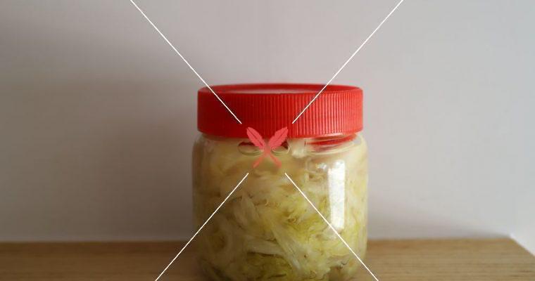 訂戶獨享:【酸白菜】不過鹹的配方,吃得安心健康!
