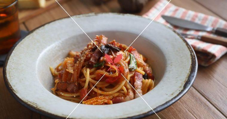 訂戶獨享:【黑大蒜番茄義大利麵】創意台式結合,甘甜絕佳風味!
