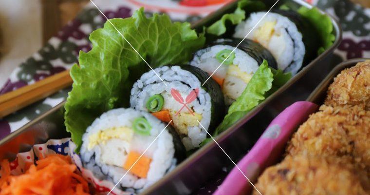 訂戶獨享【2薑味蘿蔔條壽司捲】,酸甜加分,5分鐘極速完成!