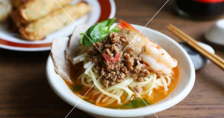 訂戶獨享: 無法抗拒的台灣小吃: 擔仔麵,海陸高湯X滷肉燥,傳統古早味與快速版,2種做法!