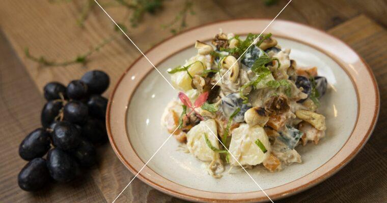 訂戶獨享:豆乃滋馬鈴薯沙拉,無奶蛋、無五辛的美乃滋!
