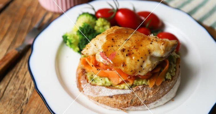 訂戶獨享:【奶油梅醋魚堡+梅醋漬紅蘿蔔】夏季開胃美味輕食!